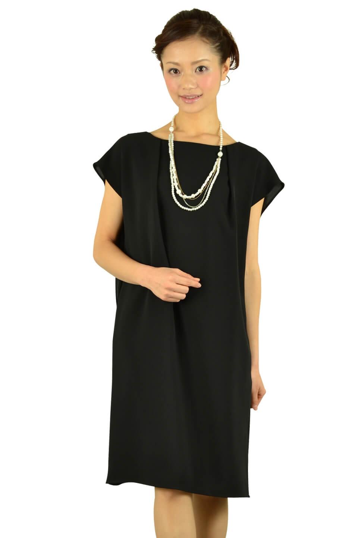 リプリート(REPLETE)ベルト付きブラックドレス